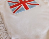 Union Jack Baby Vest Bodysuit