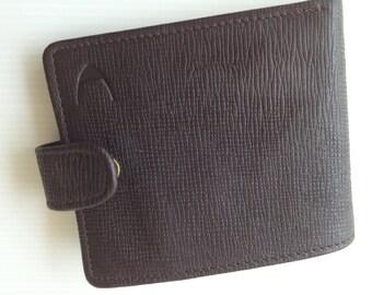 mens wallet, foldover wallet, leather wallet, hidesign wallet, money purse