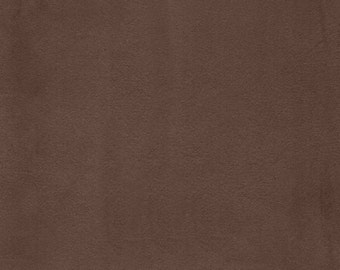 "60"" Chocolate Suede-20 Yards Wholesale by the Bolt"