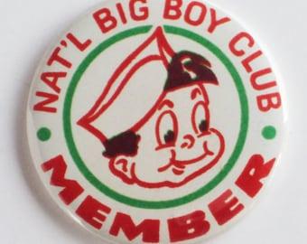 Big Boy Club Fridge Magnet