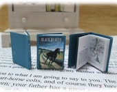 "Dollhouse Miniature ""Black Beauty"" book"