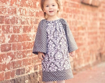 Peasant Dress - Girl, Toddler Girl, Baby Girl - Available in size 12M thru 4T