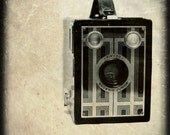 Brownie Junior Vintage Camera 8 x 8 Photography Art Print- Great Gift for the Photographer