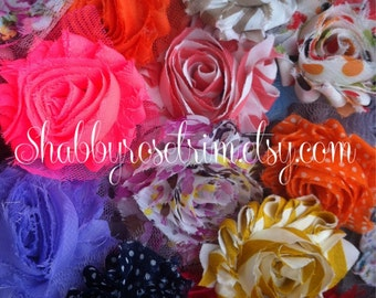 SHABBY Chiffon Flowers - GRAB BAG