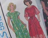Uncut McCalls Sewing Pattern 5919 - Misses Dress or Muu Muu - Size Petite