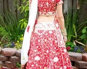 Indian Red Wedding Outfit