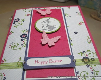 Handmade Happy Easter Card