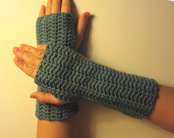 PDF Pattern for Crochet Fitted Handwarmers/ Fingerless Gloves - Permission to Sell What You Make