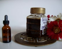 Black Walnut Hulls and Wormwood Tincture  1 Fluid Ounce - READY TO SHIP
