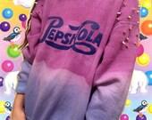 PepsiCola Dip-dyed Crew Neck