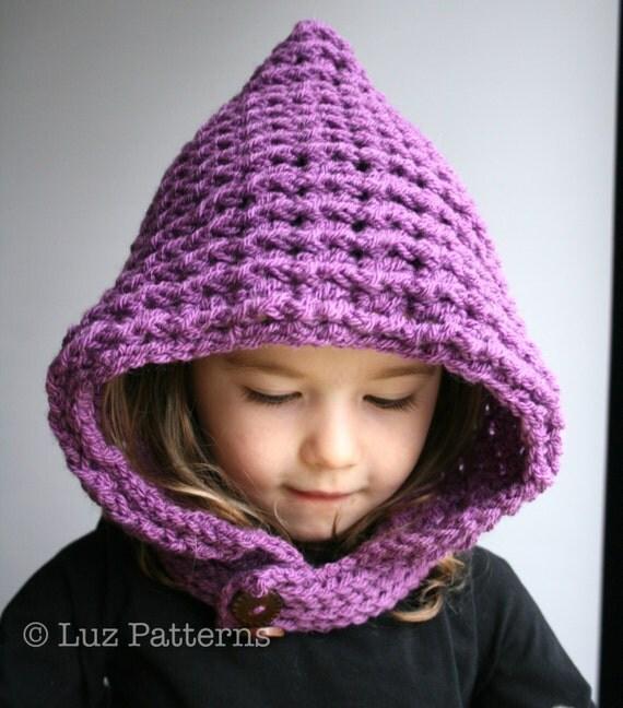 Crochet Hoodie Hat Free Pattern : Crochet Patterns crochet hat pattern hoodie crochet pattern