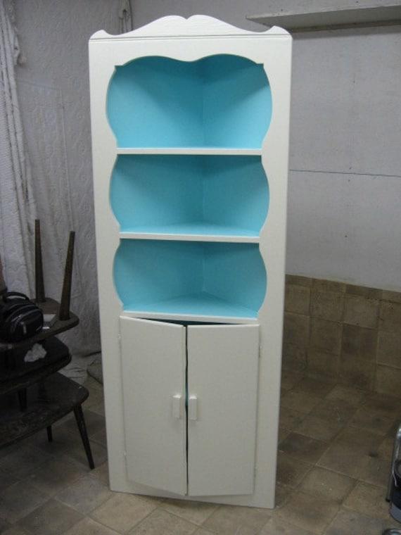Vintage Corner Cabinet 95