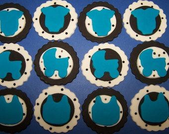 Fondant Toppers - Baby Shower