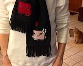 Frank'N'Stitch's Super Meat Boy Scarf