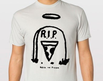 Rest in Pizza Tshirt