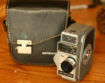 Keystone Electric Eye, Old Camera 8mm, Wedding Photo Booth, Photography Prop, Vintage Camera