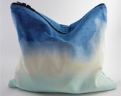 SALE/LAST ONE - Dip-Dyed Statement Clutch