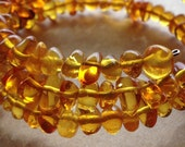 Beaded Baltic amber bracelet