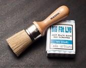 Combo: Waxine Wax Brush & Lye Soap - FREE SHIPPING