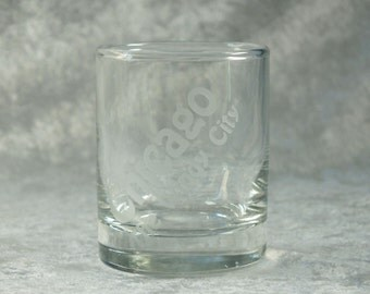 Chicago The Windy City Shot Glass