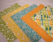 """Michael Miller Fabric Layer Cake Quilt Kit  5 prints """"Meadow Sweet""""   by ThriftyfabricsETC"""