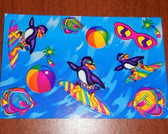 Lisa Frank Half Sheet of stickers