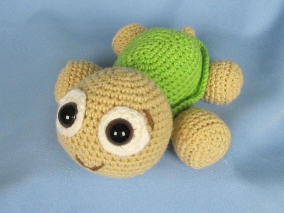 Items similar to Baby Turtle Emma - Amigurumi Crochet ...