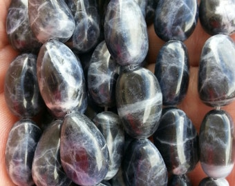 12 x 18 mm Sodalite nugget Beads