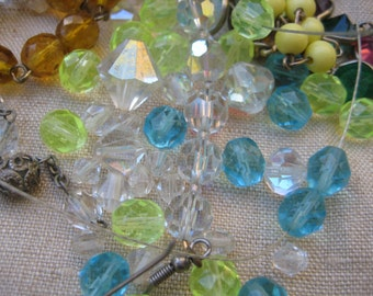Beads Beads Beads - assorted crystal and glass beads