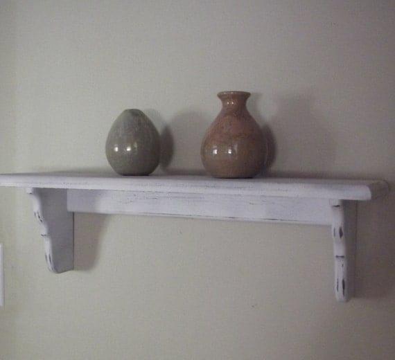 Items Similar To Shelves Nursery Shelf Distressed White