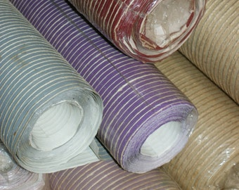 TWINE & PURPLE-LAVENDER- Incredible Wallpaper Sold By Single Roll