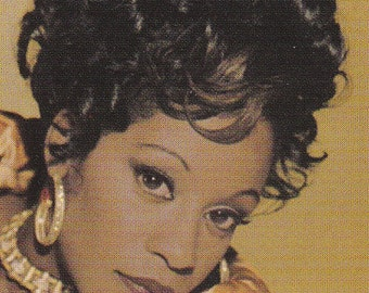 "Large ""Regina Belle - Reachin' Back"" Advertising Postcard - 204"