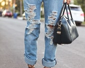 90s Boyfriend Style Vintage Denim Jeans Made To Order