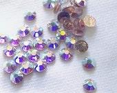 Crystal AB 12ss 2038 Swarovski Elements Rhinestones, Hot fix 36 pieces