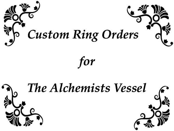 Chainmaille Rings Custom Order