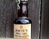 Vintage Haig's Gold Label Mini Bottle Full