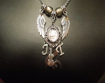 Infernal Devices Character Inspired Necklace - Jem and Tessa