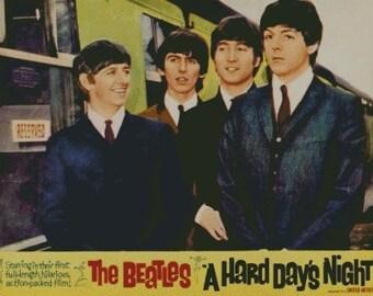 "The Beatles - ""A Hard Day's Night"" Cross Stitch Pattern 002"