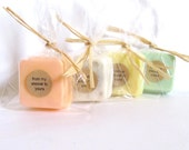 150 Wedding Favors - soap favors - Party Favors -Bridal Shower - Rustic Wedding - Custom Wedding Favors in your Wedding Colors