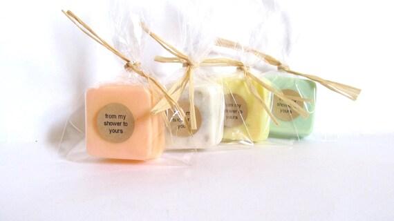 Baby Shower Favors: Baby Shower Soap Favors, Mini Guest Soaps, Favors