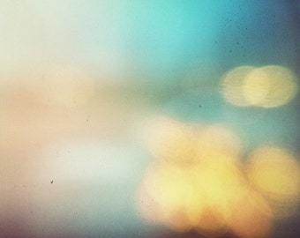 the blue hour, blur, bokeh, fine art photography