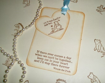 Winnie the Pooh wish tags-Baby Wish Tree tags-Baby shower-Baby favors