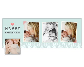 INSTANT DOWNLOAD - Mother's Day Facebook timeline cover - Photoshop template - E805