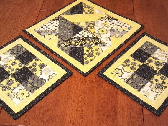 sale quilted dining room decor table centerpiece quilted placemats