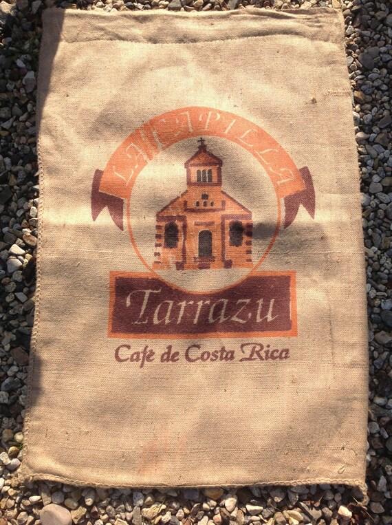 Burlap/Jute Coffee Sack, Bag (Costa Rica)