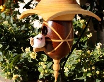 Walnut Birdhouse BH1