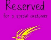 Reserved for Margie