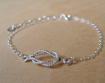 Nautical Silver Bracelet - Sterling Silver