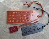 Personalized Tag - LARGE