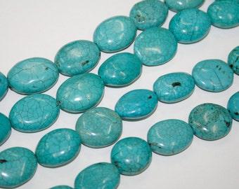 Turquoise  20mm , 3pcs  Art.Nr.514-06-S